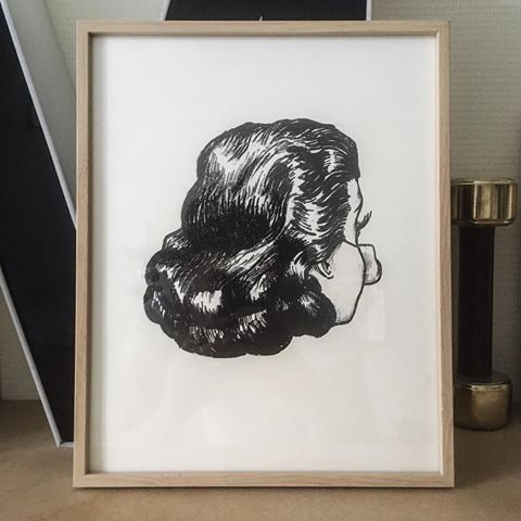 Peggy, Lithography